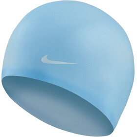 Nike Swim Solid Silicone Cap psychic blue